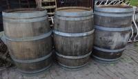 Eikenhouten wijnvaten