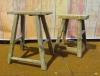 Leuke krukjes van oud hout uit China